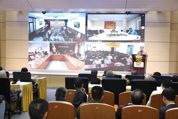 Lễ kỷ niệm được tổ chức tại Hà Nội, kết nối trực tuyến với 4 điểm cầu ở Huế, Khánh Hòa, Gia Lai, TP.HCM.
