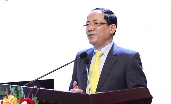 Thứ trưởng Bộ TT&TT Phạm Anh Tuấn đánh giá cao những đóng góp của Hội Tem Việt Nam vào sự phát triển của đất nước trong 60 năm qua.