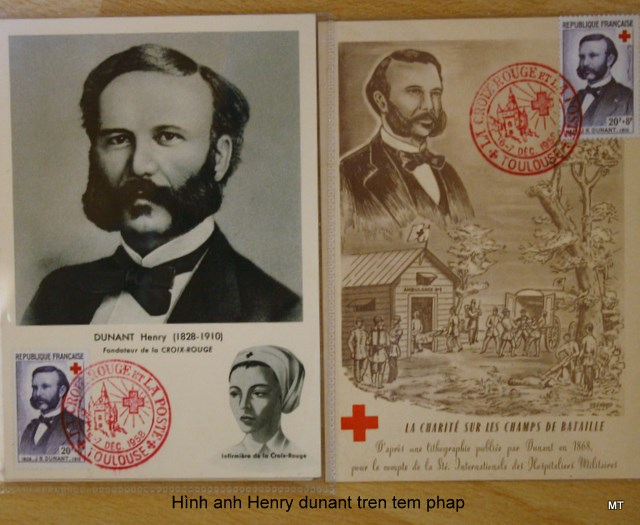 Image result for Để vinh danh Jean Henri Dunant