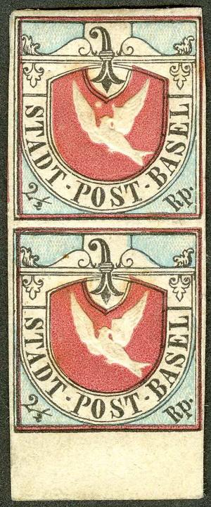 Name:  Switzerland-Basel-Dove-1847-2-rappen-carmine-black-blue-unused.jpg Views: 244 Size:  139.8 KB