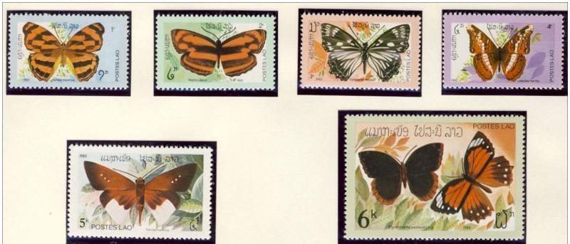 Name:  22 -LAOS 1982 BUTTERFLIES MNH - 90K.jpg Views: 412 Size:  52.4 KB