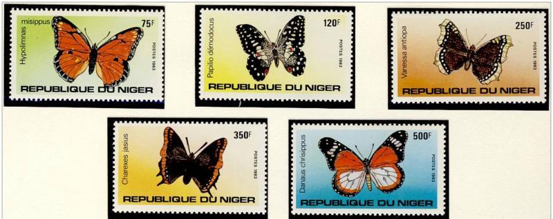 Name:  35-NIGER 1983 BUTTERFLIES MNH - 180k.jpg Views: 405 Size:  55.4 KB