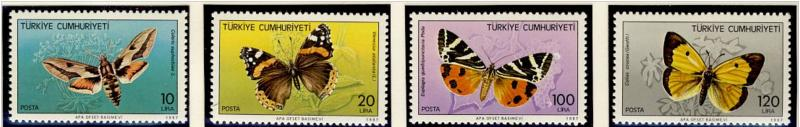 Name:  102 -TURKEY 1987 BUTTERFLIES MNH- 77k.jpg Views: 339 Size:  29.8 KB