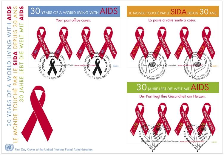Name:  UN 2011_AIDS_FDC.jpg Views: 244 Size:  232.3 KB