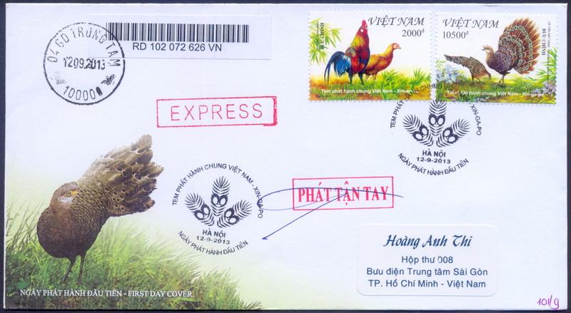 Name:  Viet Stamp-Tem phat hanh chung Viet-Sing-FDC Cty thuc gui_s.jpg Views: 537 Size:  155.9 KB