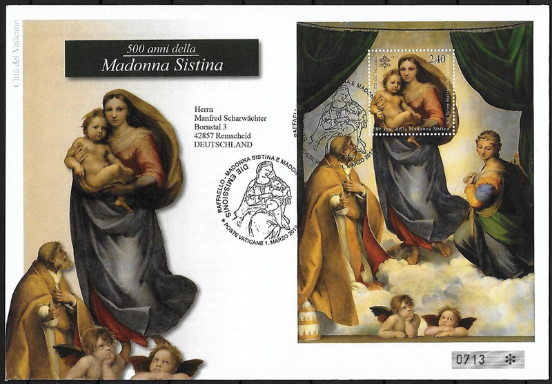 Name:  vietstampdotnet-sistine madona-germany fdc.jpg