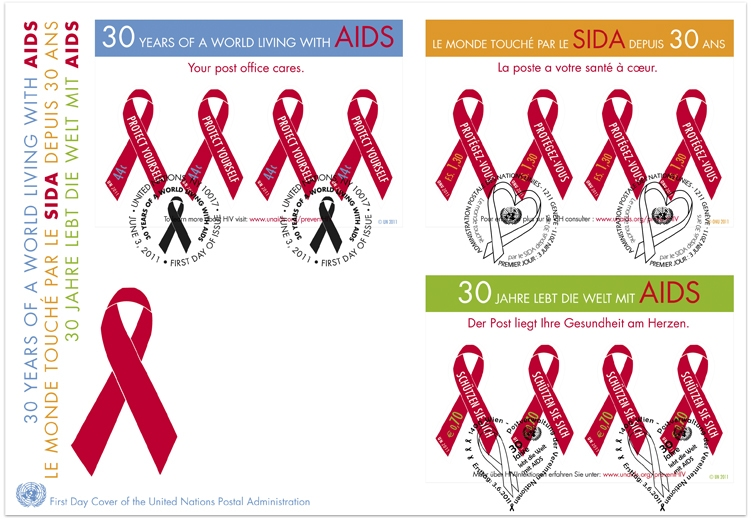 Name:  UN 2011_AIDS_FDC.jpg Views: 231 Size:  232.3 KB