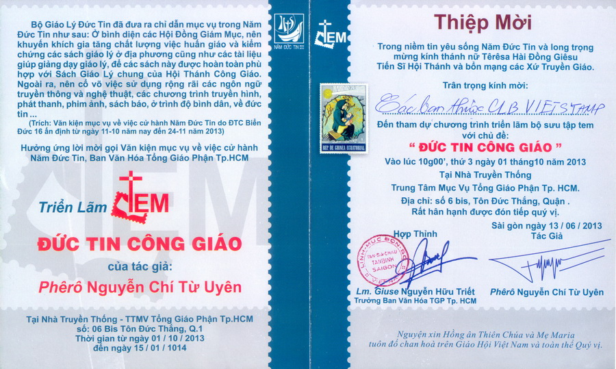 Name:  Viet Stamp-Thu moi trien lam Duc tin Cong Giao-trong.jpg Views: 576 Size:  267.9 KB