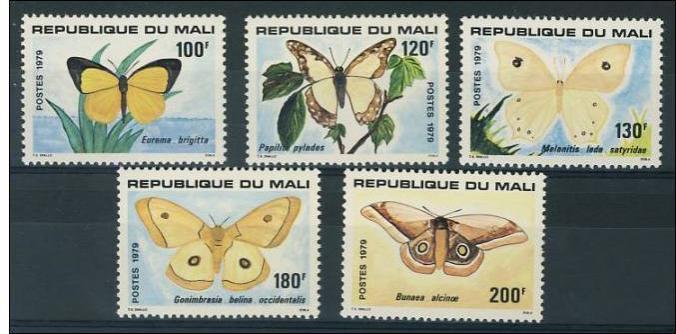 Name:  19- MALI 1979 BUTTERFLIES MNH- 130K.jpg Views: 399 Size:  48.6 KB