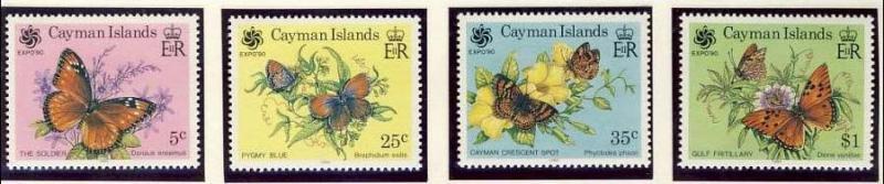 Name:  28- CAYMAN ISLES 1990 BUTTERFLIES MNH - 345k.jpg Views: 401 Size:  36.2 KB