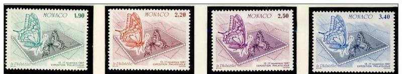 Name:  39- MONACO 1987 BUTTERFLIES MNH - 105k.jpg Views: 394 Size:  32.0 KB