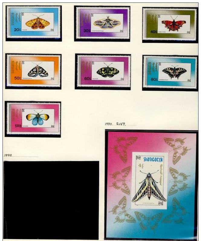 Name:  241 -MONGOLIA 1990 BUTTERFLIES MNH - 85k.jpg Views: 179 Size:  75.6 KB