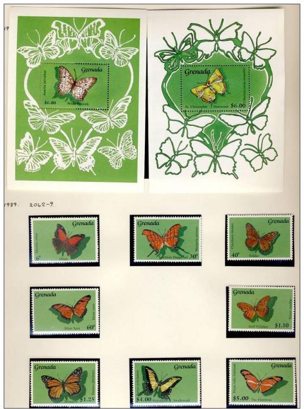 Name:  255 -GRNADA 1989 BUTTERFLIES MNH- 480K.jpg Views: 150 Size:  88.7 KB