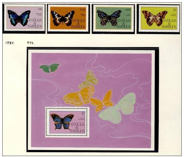 Name:  277-ANTIGUA AND BARBUDA 1985 BUTTERFLIES MNH- 385k.jpg Views: 146 Size:  61.6 KB