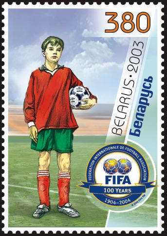 Name:  Belarus_stamp_no__523_-_Centenary_of_FIFA.jpg Views: 171 Size:  44.4 KB