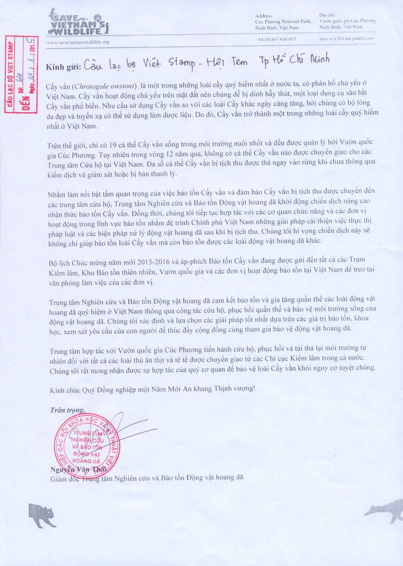 Name:  Thu Save Vietnam Wildlife.jpg Views: 156 Size:  300.8 KB