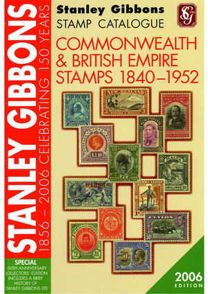 Name:  Stanley Gibbons-Stamp Catalogue-2006-Commonwealth & British Empire (1840-1952).jpg Views: 1756 Size:  46.9 KB