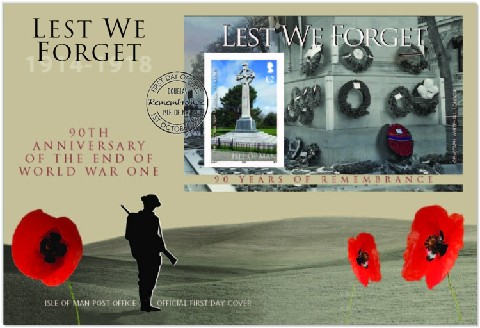 Name:  WW1_RemembranceMiniatureSheetFDC.jpg Views: 137 Size:  50.7 KB