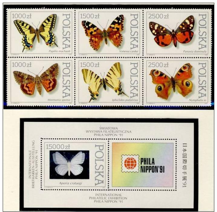 Name:  246-POLAND 1991 BUTTERFLIES MNH- 95k.jpg Views: 155 Size:  93.5 KB