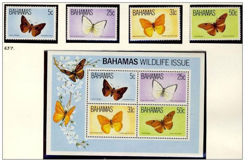 Name:  271- BAHAMAS 1983 BUTTERFLIES MNH- 250k.jpg Views: 145 Size:  73.2 KB