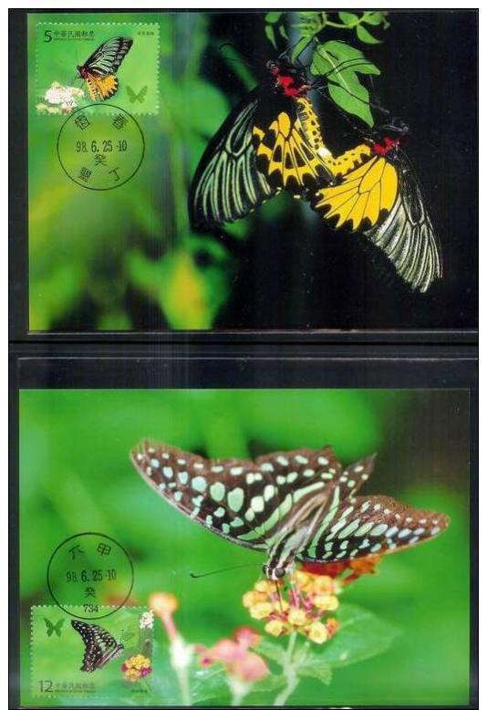 Name:  312-Maxi Cards(A) 2009 Taiwan Butterflies Stamps butterfly i- 160k.jpg Views: 119 Size:  63.7 KB