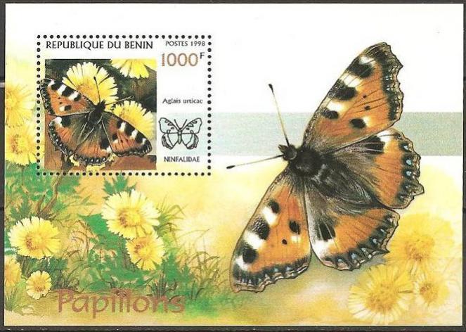 Name:  326- BENIN 1998 BUTTERFLIES -120k.jpg Views: 118 Size:  63.5 KB