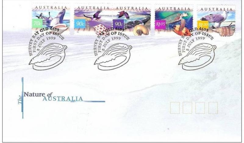 Name:  406-Australia 1999 The Nature of Australia FDC -70k.jpg Views: 227 Size:  52.2 KB