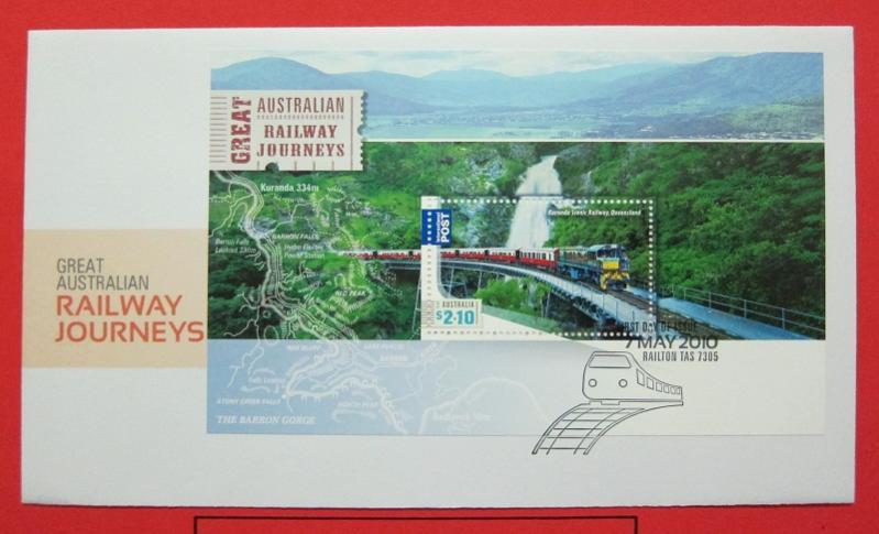 Name:  445-Australia 2010 Great Australian Railway Journeys FDC - 50K.jpg Views: 202 Size:  50.4 KB