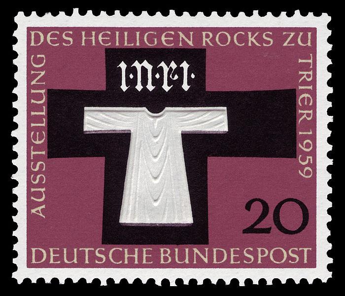 Name:  700px-DBP_1959_313_Heiliger_Rock.jpg Views: 303 Size:  91.5 KB