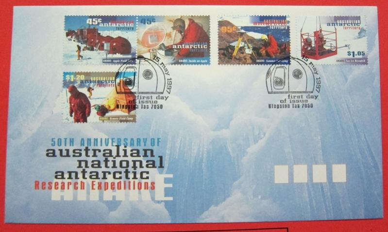 Name:  438-1997 AUSTRALIA FDC ANTARCTIC TERRITORY 50TH -60K.jpg Views: 230 Size:  54.4 KB