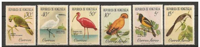 Name:  329-VENEZUELA 1961 BIRDS - 85k.jpg Views: 131 Size:  40.6 KB