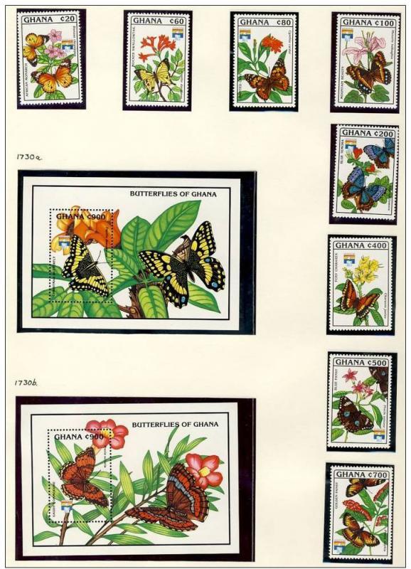 Name:  270 -GHANA 1992 BUTTERFLIES MNH -1650K.jpg Views: 153 Size:  98.4 KB