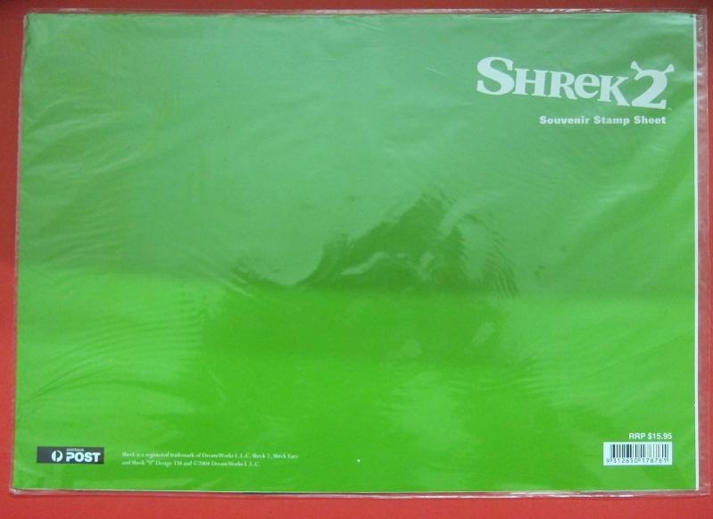 Name:  356-Australia - Shrek 2 The Movie - Souvenir Stamp Sheet-400k-1.jpg Views: 126 Size:  35.4 KB