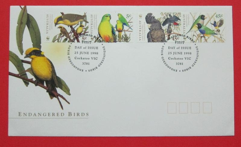 Name:  405- FDC WWF AUSTRALIA 1998- 50K.jpg Views: 229 Size:  40.8 KB