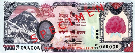 Name:  Nepal issues new 1,000-rupee note wo king's.jpg Views: 1191 Size:  58.5 KB