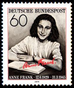 Name:  12.6 !!!!!-Anne_Frank_stamp.jpg Views: 125 Size:  27.3 KB